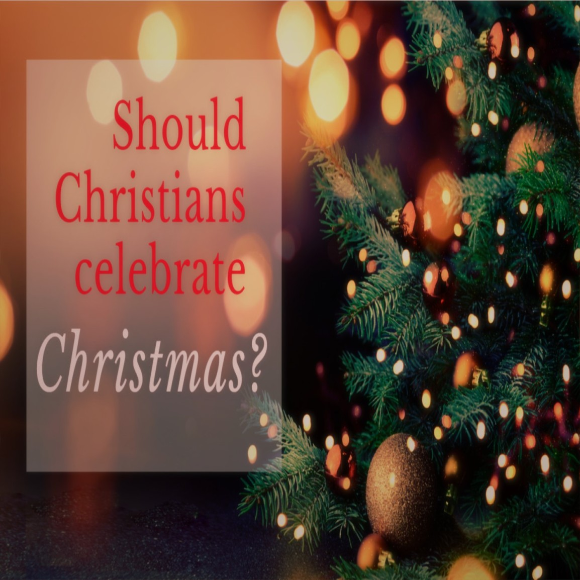 Exposing the deception of Christmas